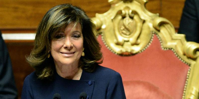 La Presidente del Senato Casellati riscontra